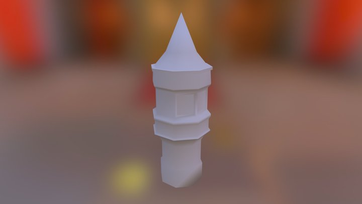 Sm Tower 3D Model