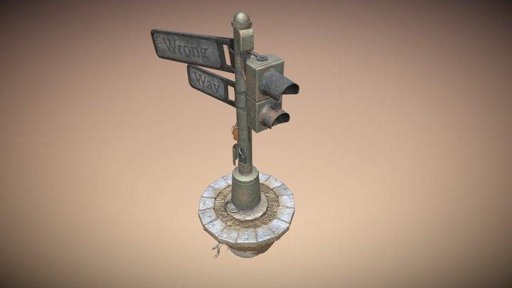Forgotten Pole 3D Model