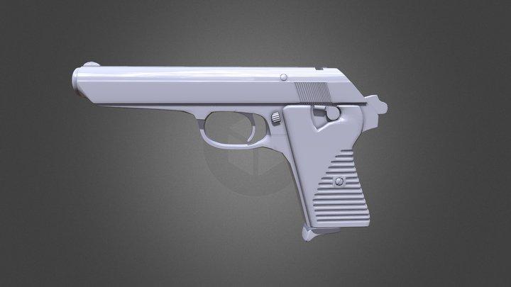 Realistic Gun Model 3D Model