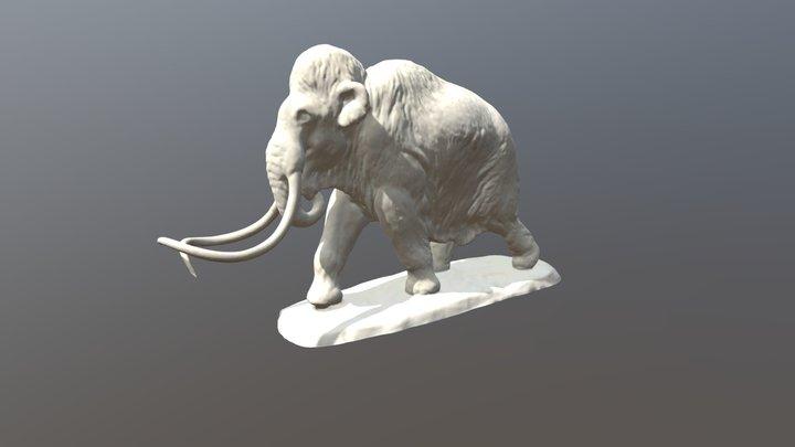 Mammoth Sculpture (VCU_3D_4294) 3D Model
