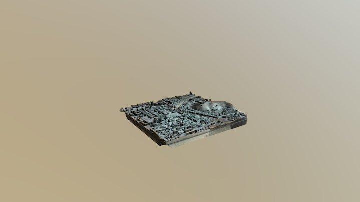 Ljubljana city center 3D Model