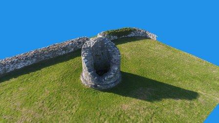 Nendrum Tower Model 3D Model