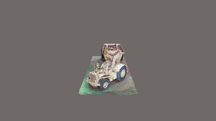 Trator da UHE São Simão 3D Model