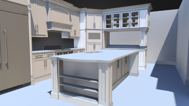 Kitchen sample 3D Model