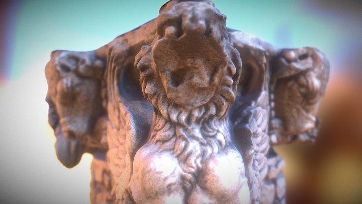 BULLS_ APOLLO TEMPLE, DIDIM 3D Model
