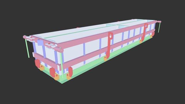 Форма для ФБС 3D Model