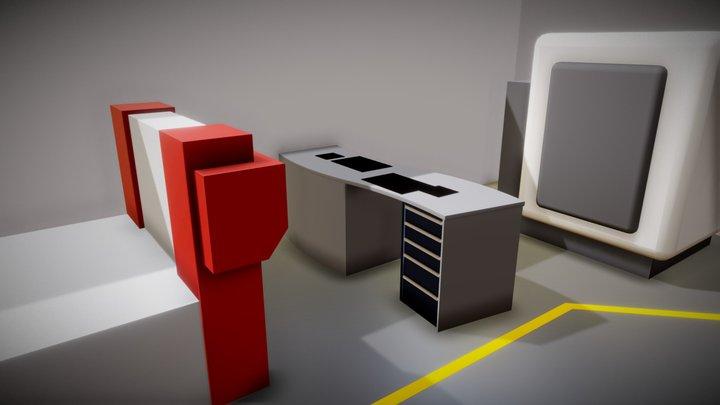 Tischlerei Stockinger 01 3D Model