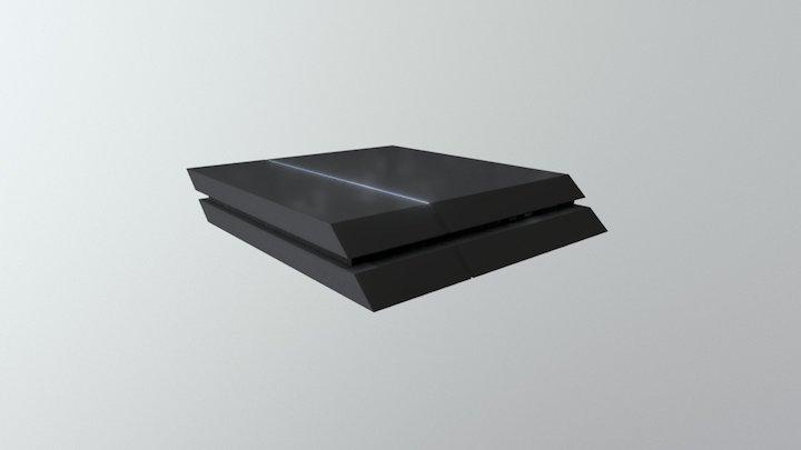 Daily 3D challenge #02— PS4 3D Model