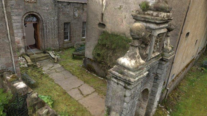 Craig Castle Nr Huntly Aberdeenshire 3d Model 3D Model