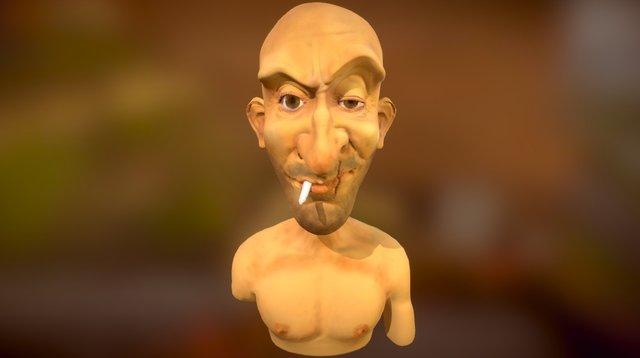 Old bastard v 0.1 3D Model