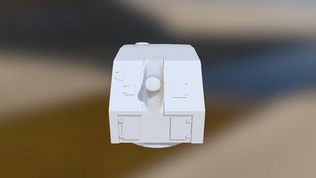 turret 3D Model