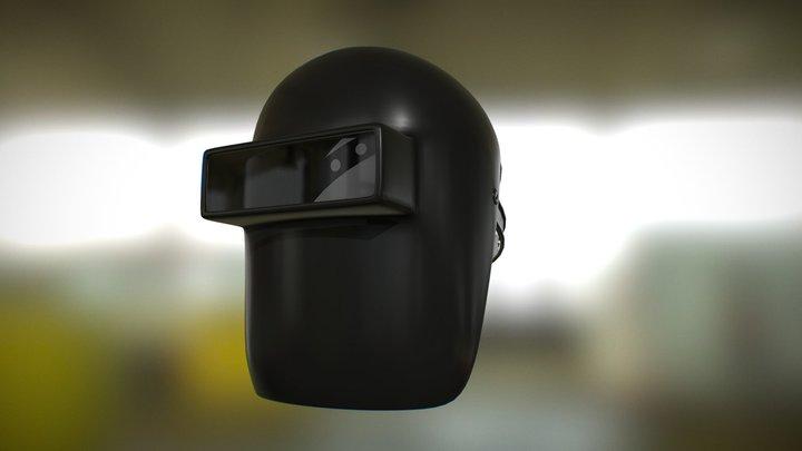 Welding mask 3D Model