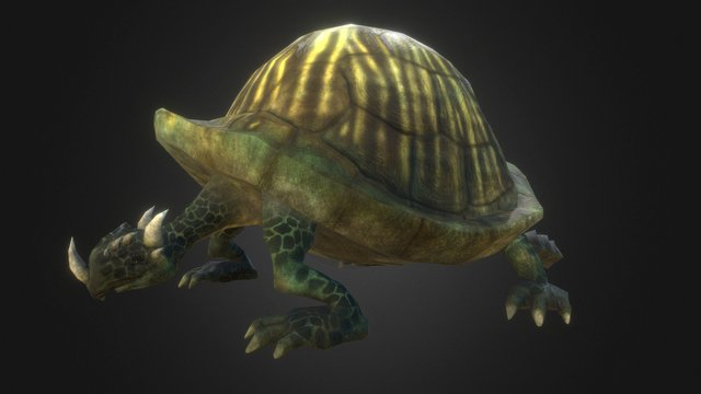 Tortosaur 3D Model