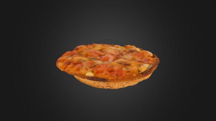 Mini Pizza 3D Model