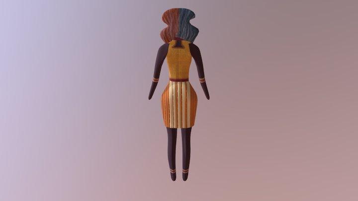 Pipistrela 3D Model