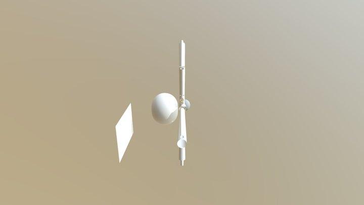 3D Mode Mars's Drawing 2 3D Model