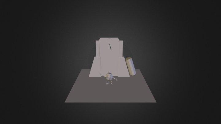 Little Mike Frankenstein  3D Model