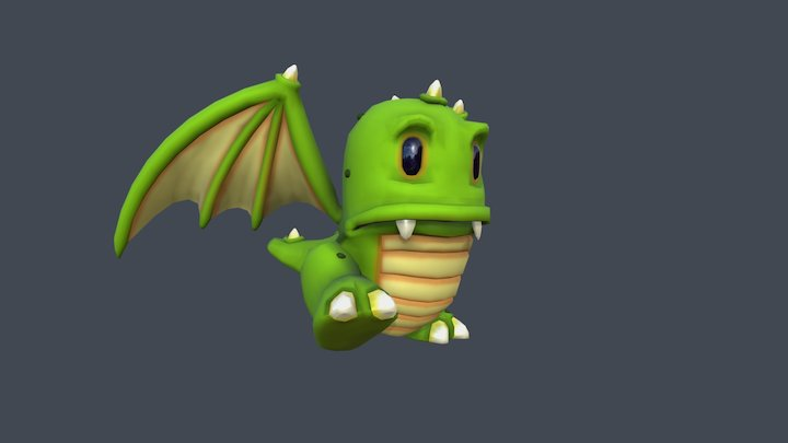 Animated Game-character 3D Model