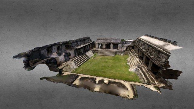 El Palacio Palenque/Palenque's Palace 3D Model