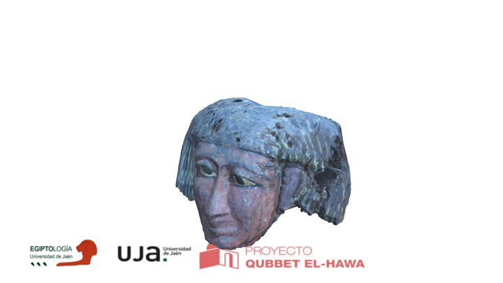 Máscara funeraria 3D Model
