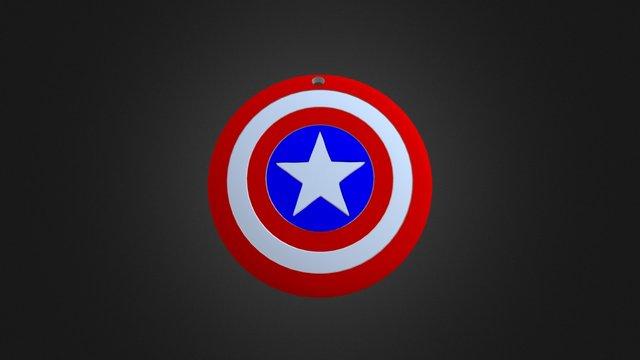 Capitan America 3D Model