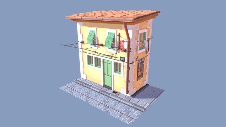 Lisbon House 3D Model
