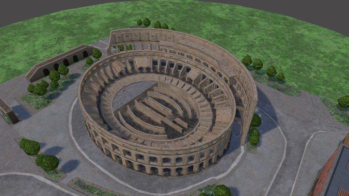 Colosseum_Draft 3D Model
