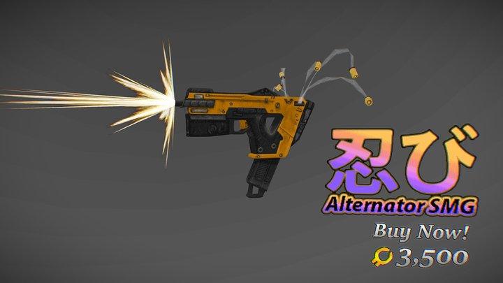 Apex Legends '98 - Alternator SMG 3D Model