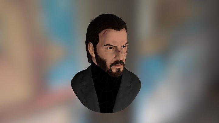 John Wick (Sculpt+ iPad Pro) 3D Model