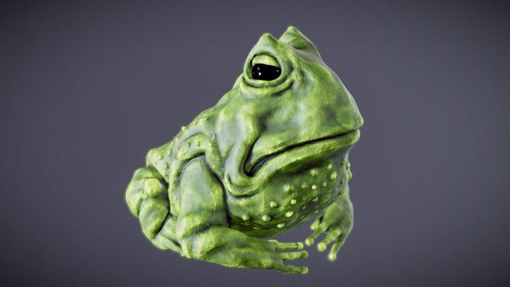 Frogue 3D Model