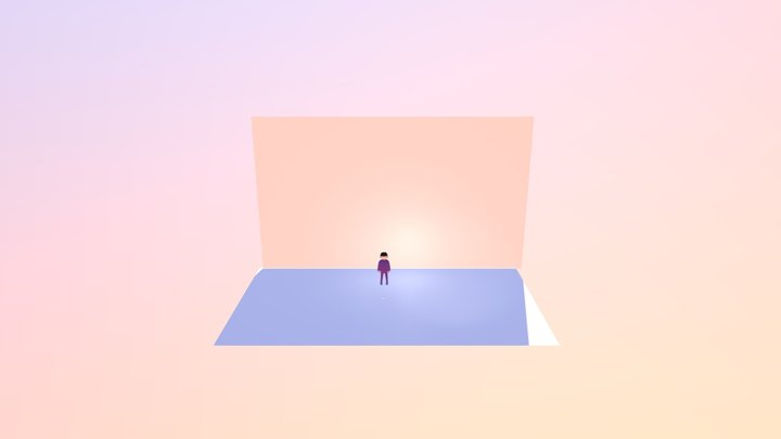 Playmobil-like Toy(Low Poly) 3D Model