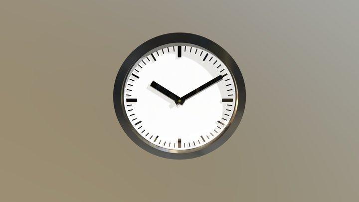 Simple Clock 3D Model