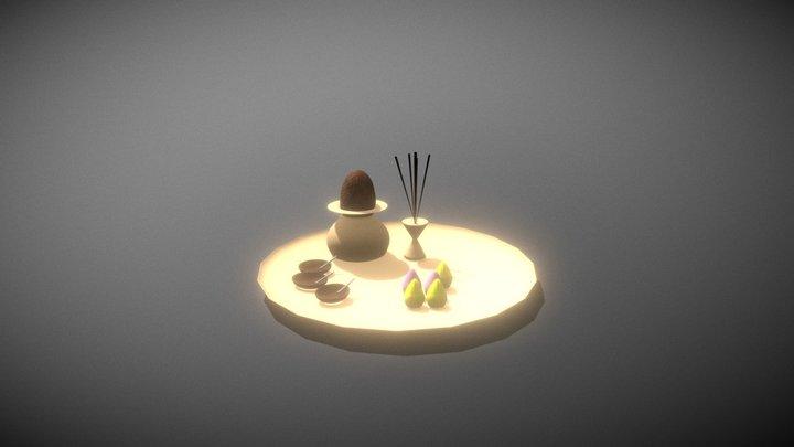 Aaarti thali 3D Model