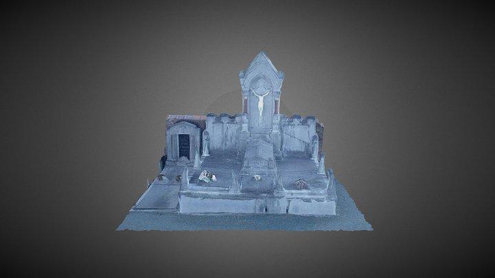 Begraafplaats Temse 2 3D Model