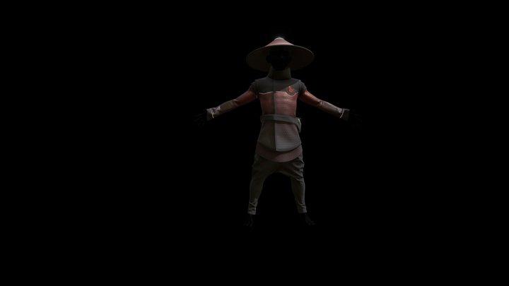 Monk Pokemon 3D Model