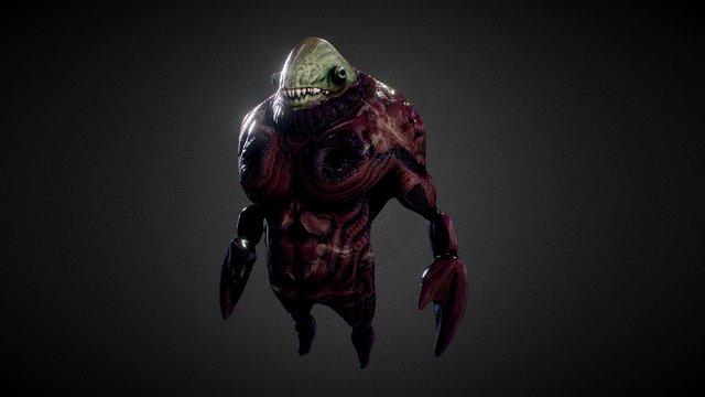 Crab Guy 3D Model