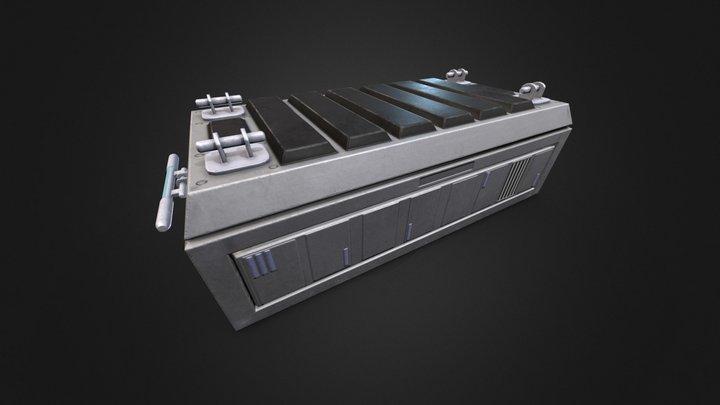 Fallout 3 Enclave Crate 3D Model