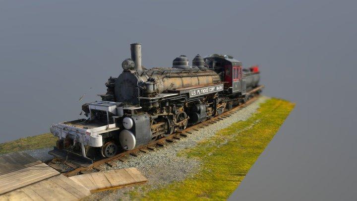 Snoqualmie Train Attempt 2 3D Model