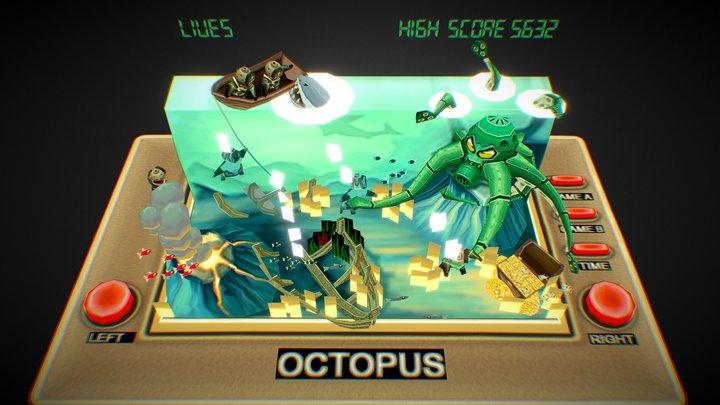 VG remix_Octopus 3D Model