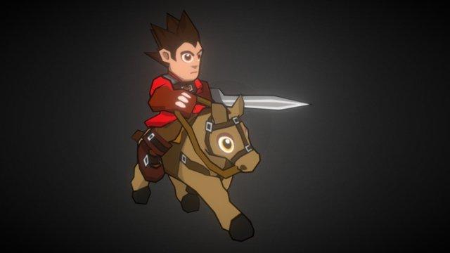 Cavalry 3D Model