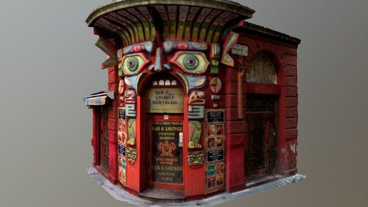 Pub Entrance Budapest (partial scan) 3D Model