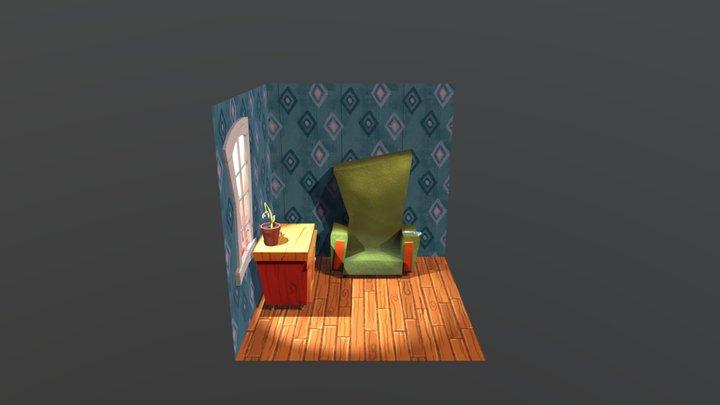 Interier 3D Model
