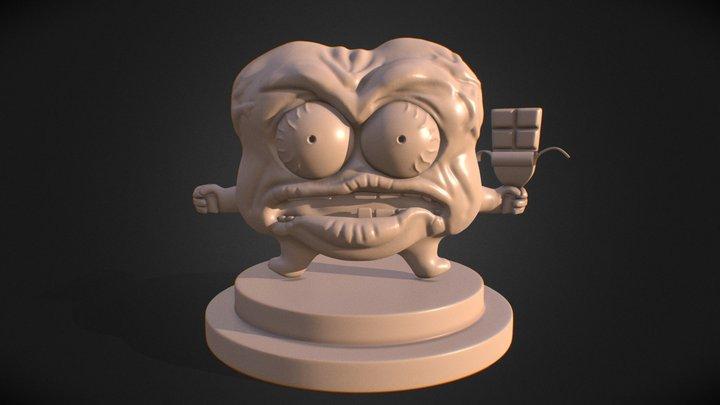 Sr Pelo FanArt 3D Model