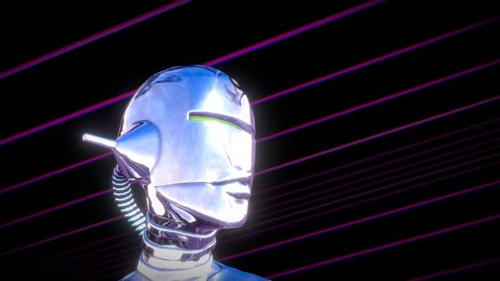 Neon Horizon 3D Model