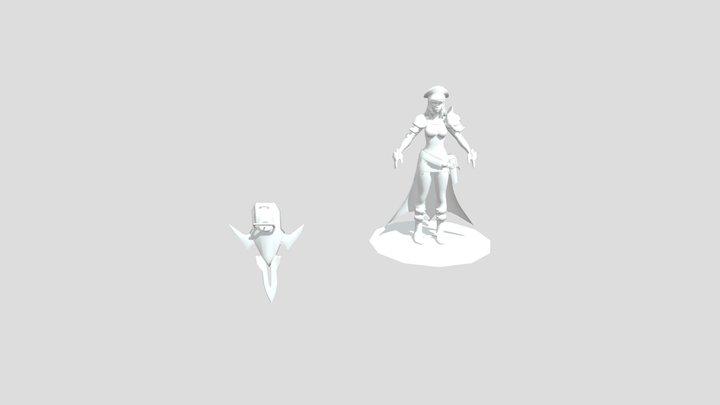 Catherine 3D Model