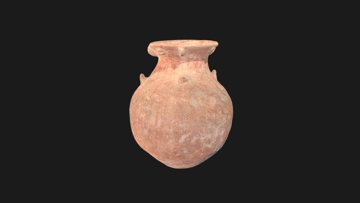 Anthropomorphic jar 3D Model