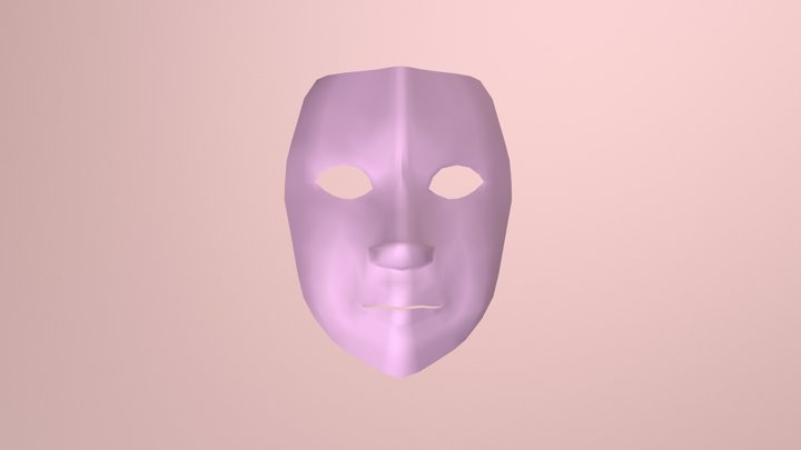 Cara Mujer 3D Model