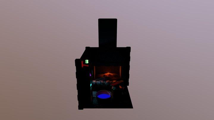 Blacksmith workshop 3D Model