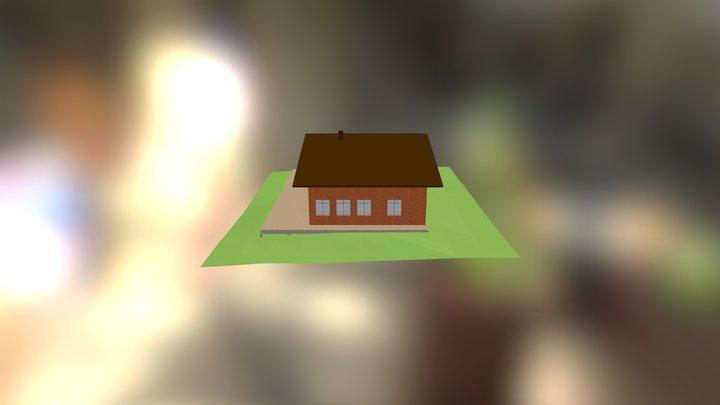 Дом2 3D Model