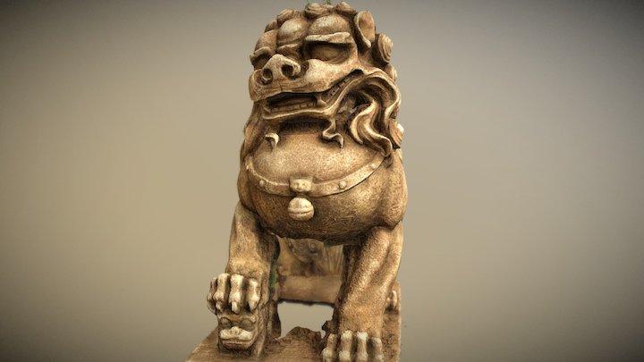 guardian lion 3D Model